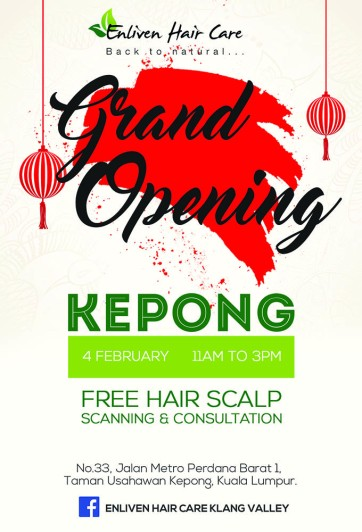 Kepong Opening