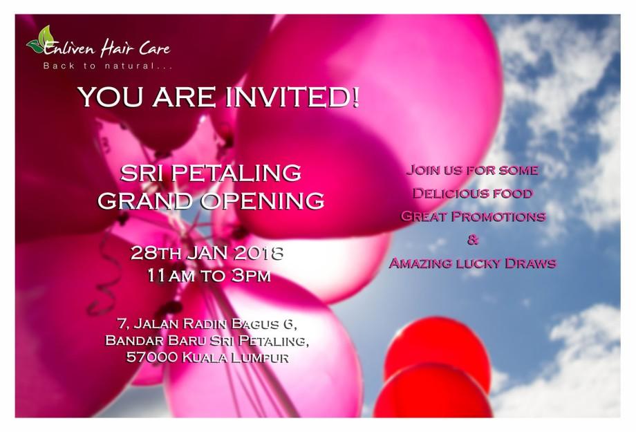 Sri Petaling Opening